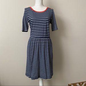 Anthropologie Pure + Good Striped TShirt Dress